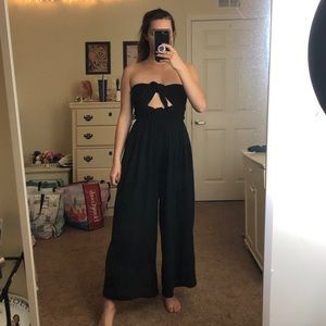 NWOT Free People Strapless Jumpsuit